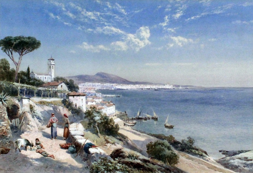 'Genoa' painted by Charles Rowbotham