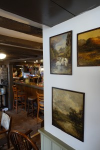 Art and the welcoming bar