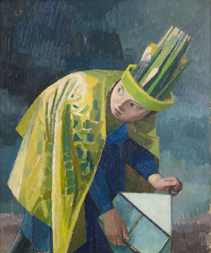 Evelyn Dunbar, February, 1937-38, Oil on canvas, © The Artist's Estate, courtesy of Liss Llewellyn Fine Art