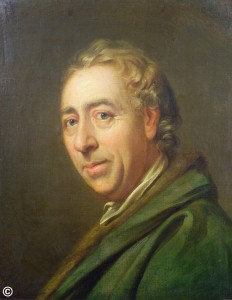 The landscape gardener Lancelot 'Capability' Brown by Richard Cosway © Bridgeman images