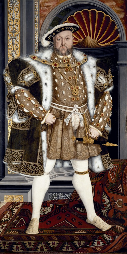 King Henry VIII (1491-1547) from the studio of Hans Holbein the younger, circa 1543/47