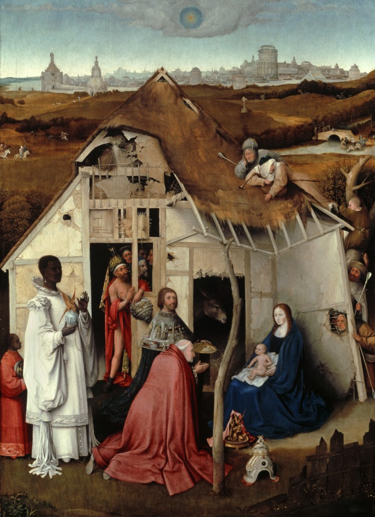 The Adoration of the Magi, attributed to Hieronymus Bosch, circa 1515