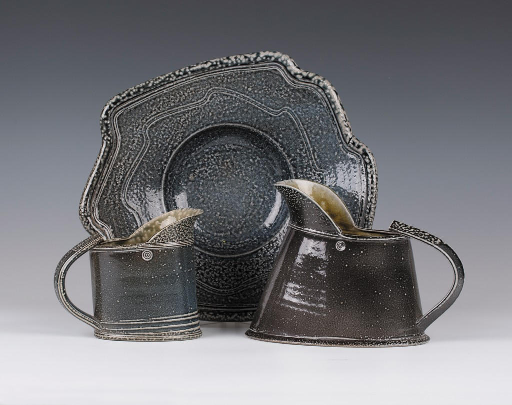 A selection of work by the 20th century British studio potter Wally Keeler