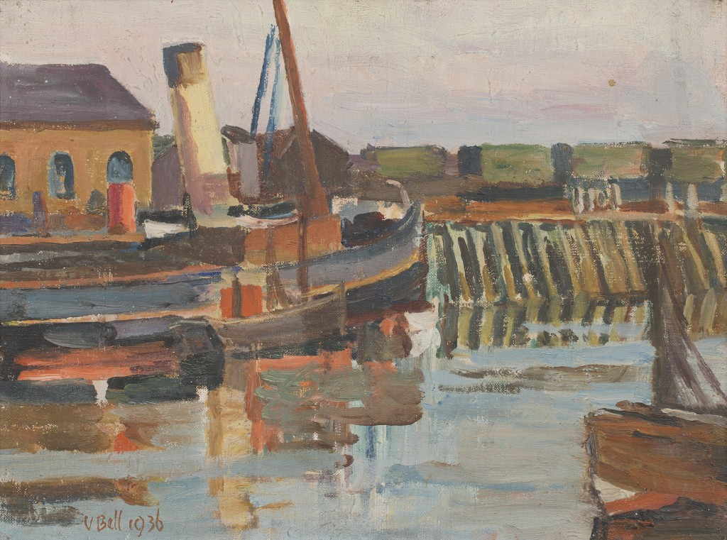 'The Tug' by Sussex artist, Vanessa Bell