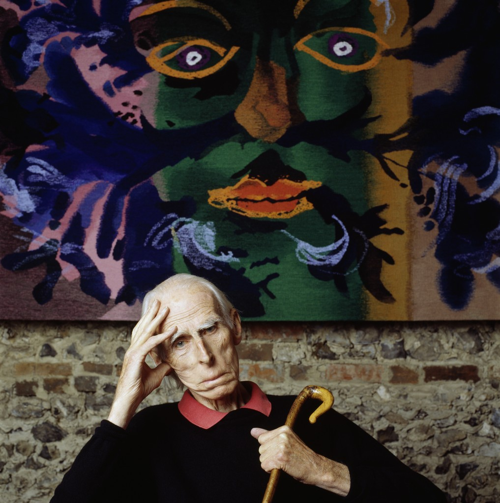 The artist John Piper in 2000 © Nicholas Sinclair
