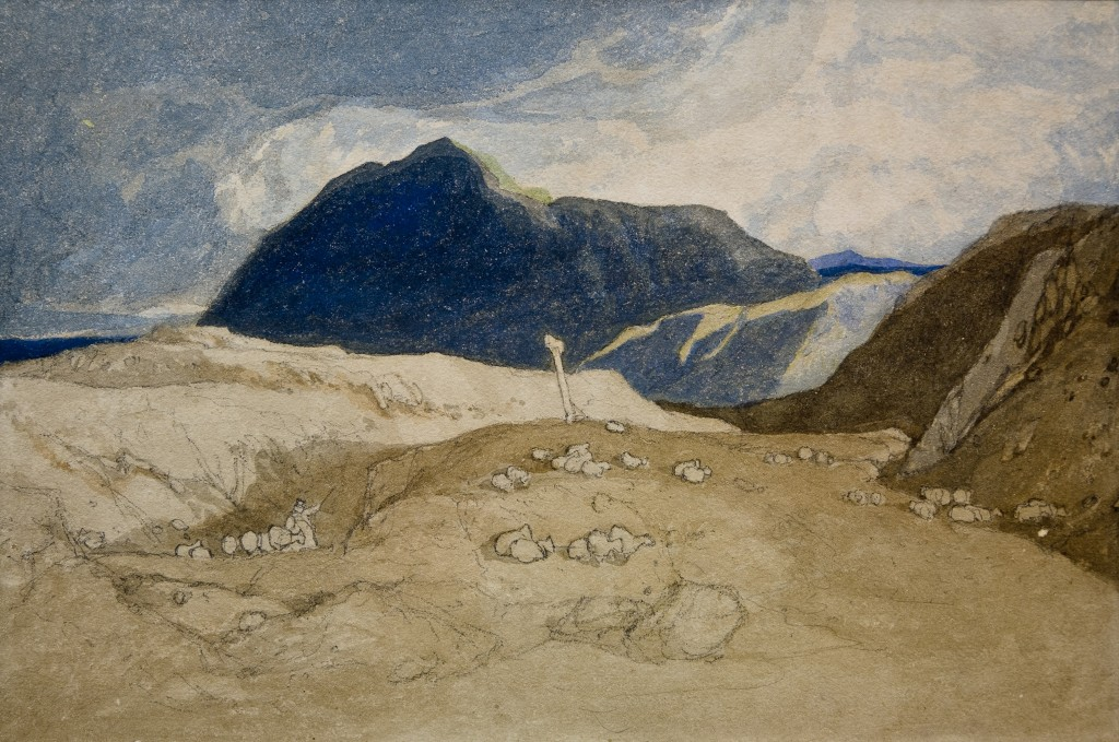 John Sell Cotman, 'Capel Curig', 1807 © Pallant House Gallery