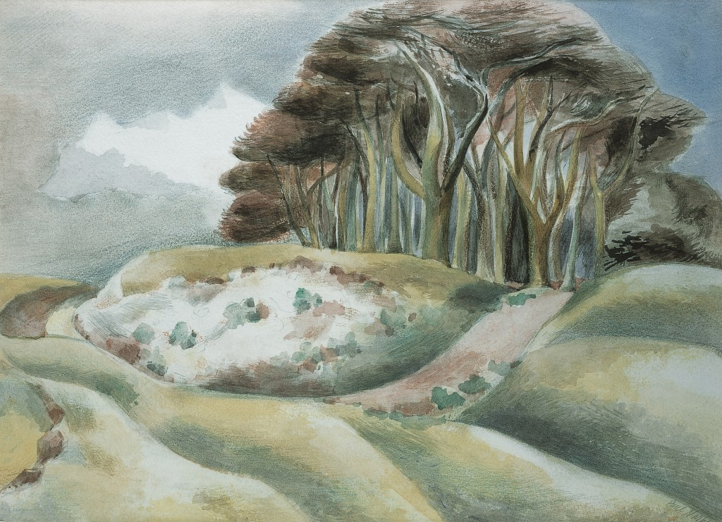 Paul Nash, 'Wittenham', 1935 © Tate Gallery