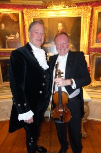 The Lord High Sheriff of West Sussex, Mark Spofforth., OBE, and Mr Andrew Bernardi