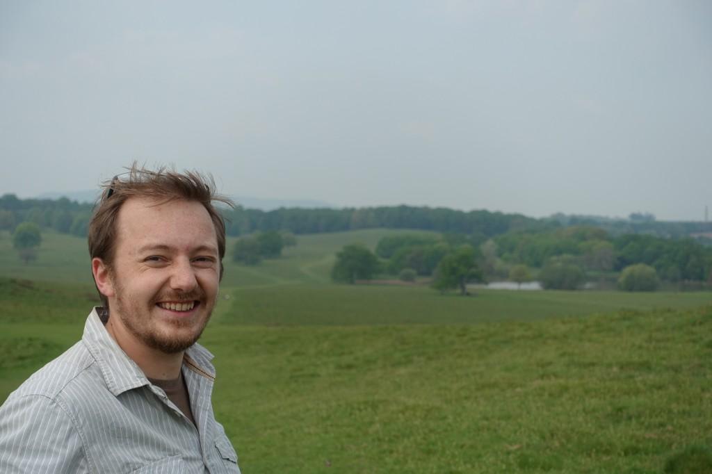 The National Trust's Regional Archaeologist, Tom Dommett