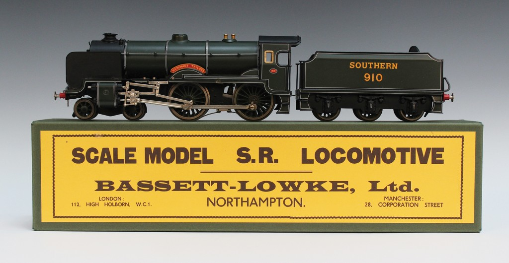 A Märklin for Bassett-Lowke gauge O electric 4-2-0 locomotive