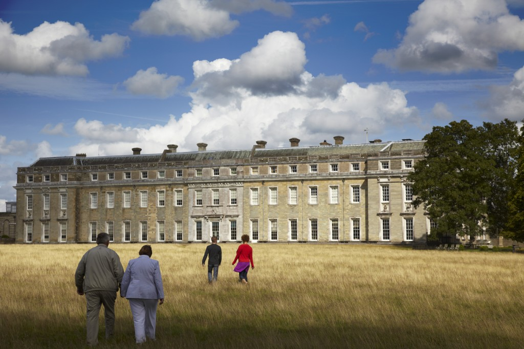 Petworth House united with its landscape