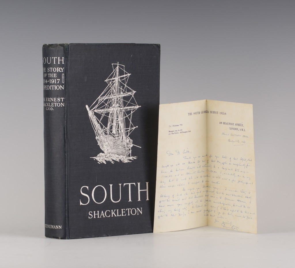 The Story of Shackleton's Last Expedition 1914-1917, estimate £500-800
