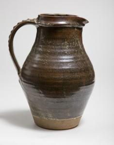 A Bernard Leach stoneware jug
