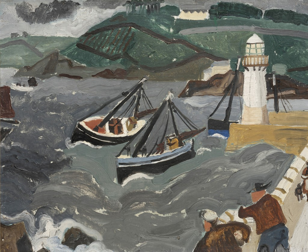Christopher Wood, 'Harbour in the Hills, University of Essex