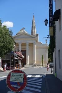 The church of St Martin, St Rémy de Provence