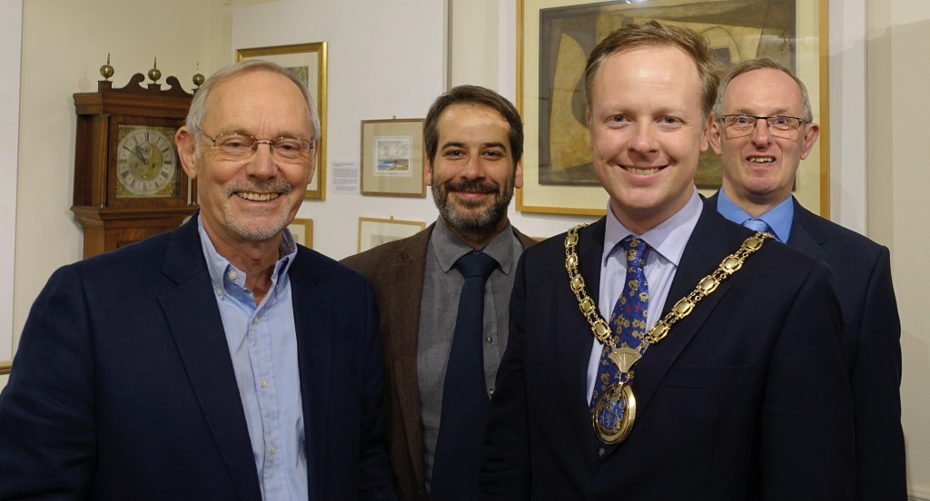 From left to right: Jonathan Chowen, Nicholas Toovey, Christian Mitchell and Jeremy Knight