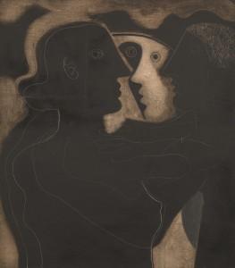 Ben Nicholson, Heads, 1933, image courtesy of Tate © Angela Verren Taunt