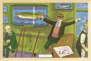Bernard Cheese – 'A Fisherman's Story' © Chloe, Joanna and Sarah Cheese