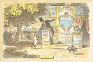 Edward Ardizzone – 'The Fattest Woman in the World' © The Artist's Estate