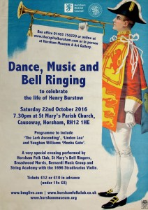 Celebrating the life of Henry Burstow with Dance, Music and Bell Ringing