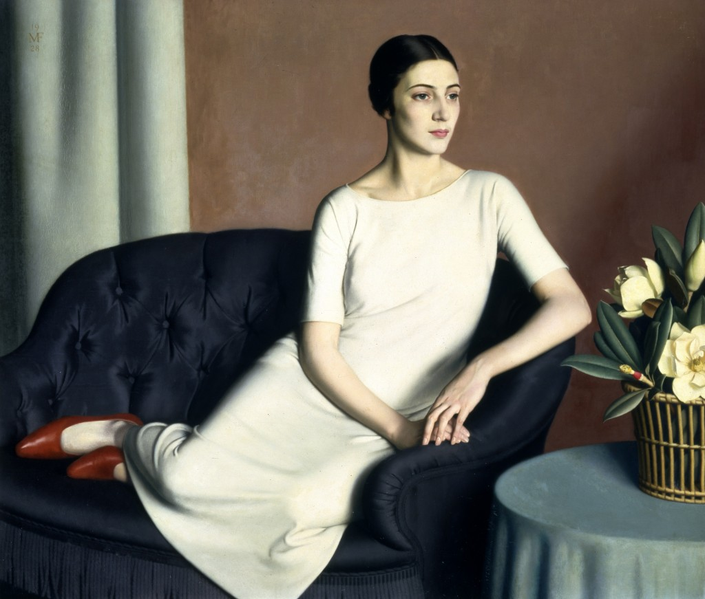 Meredith Frampton, Portrait of Marguerite Kelsey © Tate