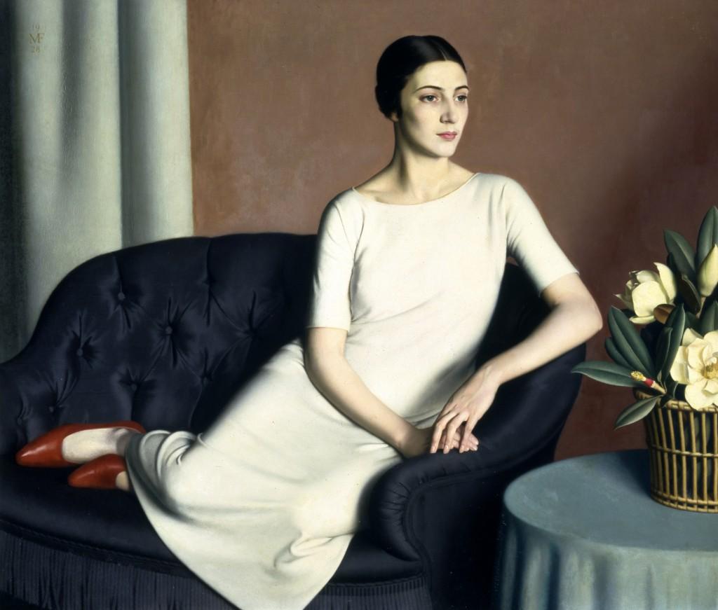 Meredith Frampton, Portrait of Marguerite Kelsey © Tate