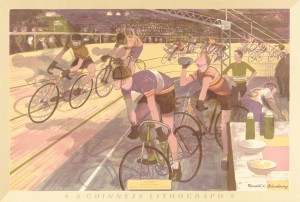Ronald Glendening – 'Cycle Racing' © The Artist's Estate