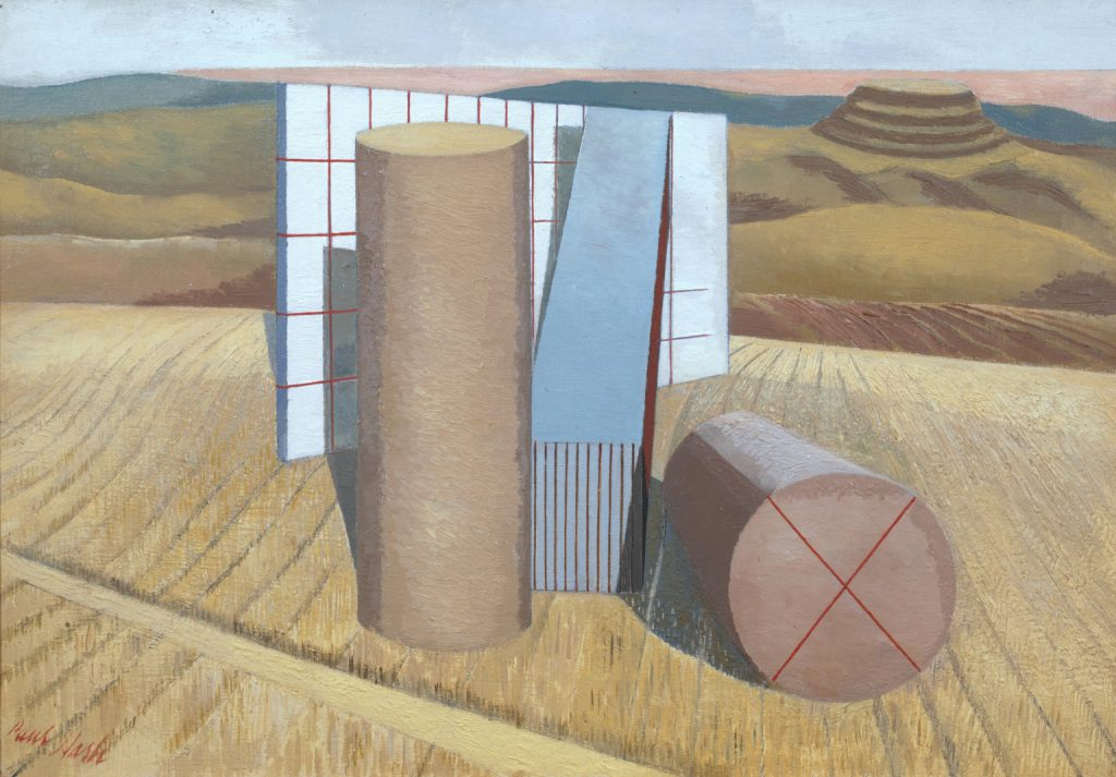 Paul Nash's 'Equivalents for the Megaliths, c.1935, collection and © Tate