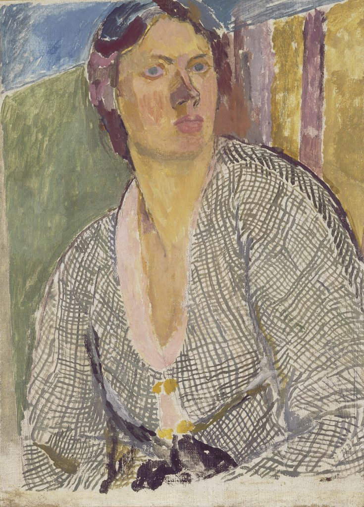 Vanessa Bell, Self –Portrait, 1915, Yale Centre for British Art, Paul Mellon Fund © The Estate of Vanessa Bell, courtesy of Henrietta Garnett