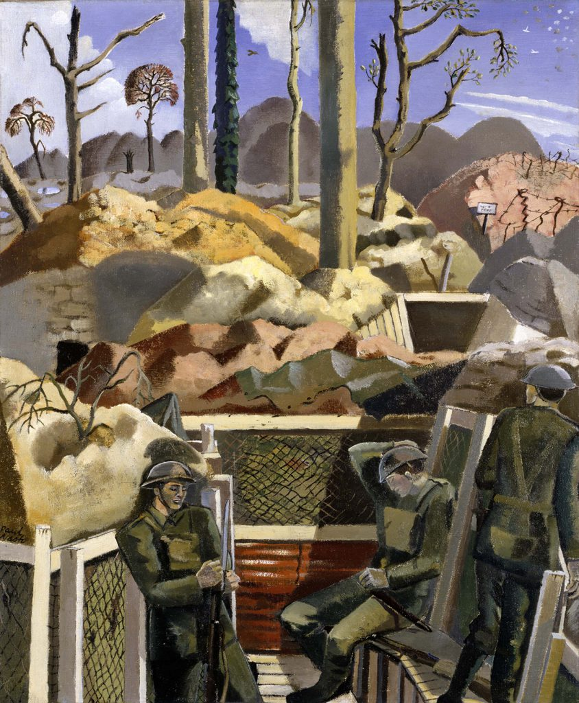 Paul Nash's 'Spring in the Trenches, Ridgewood', c.1917-1918, Imperial War Museum/Tate