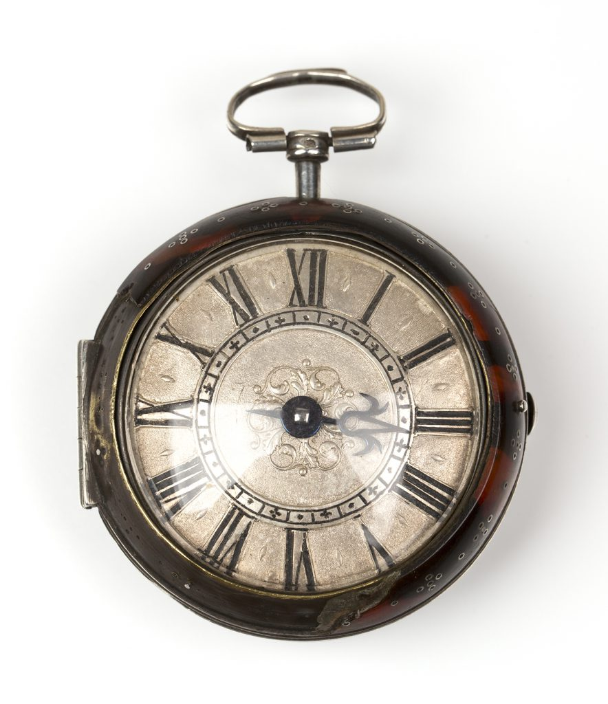 The pair cased gentleman's pocket watch by Nathaniel Barrow, c.1685