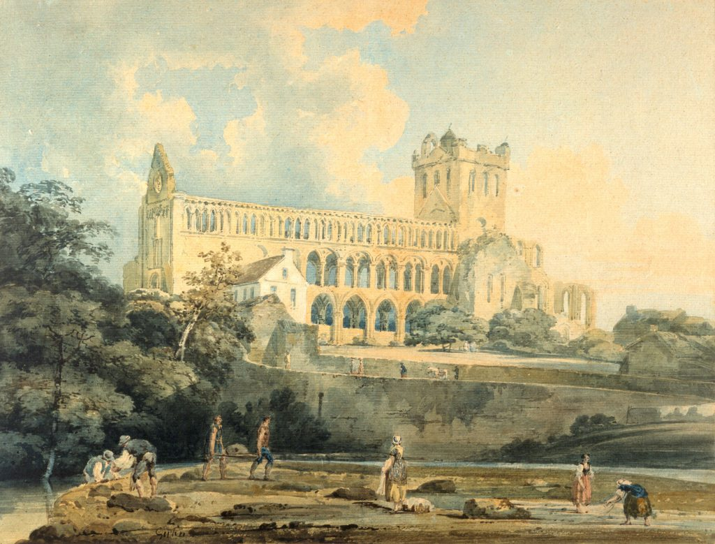 Thomas Girtin 'Jedburgh from the River', c.1798-99 © National Trust