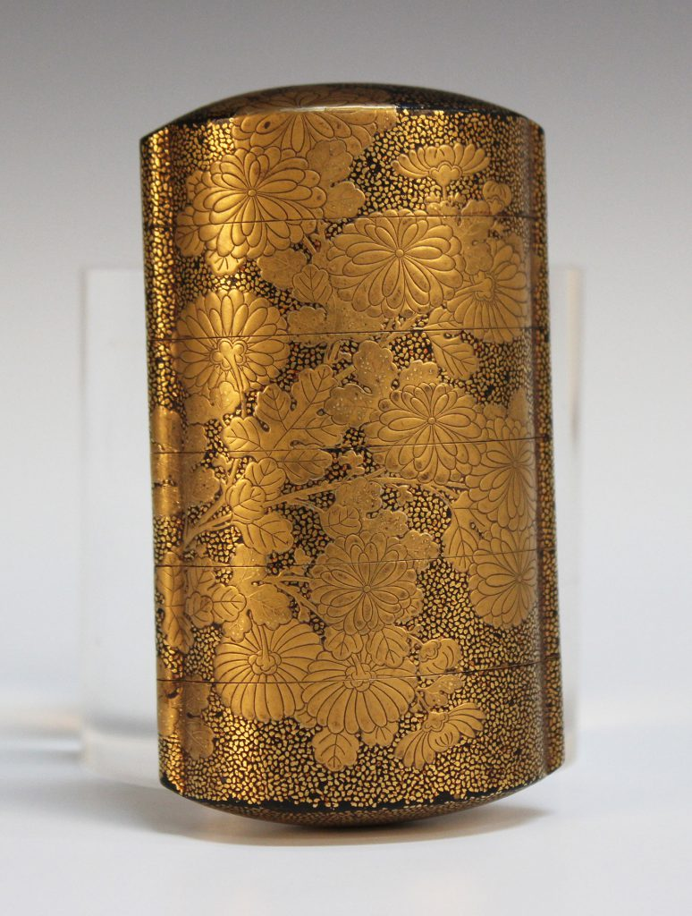 A Japanese five-case lacquer inro, Edo period (19th Century)