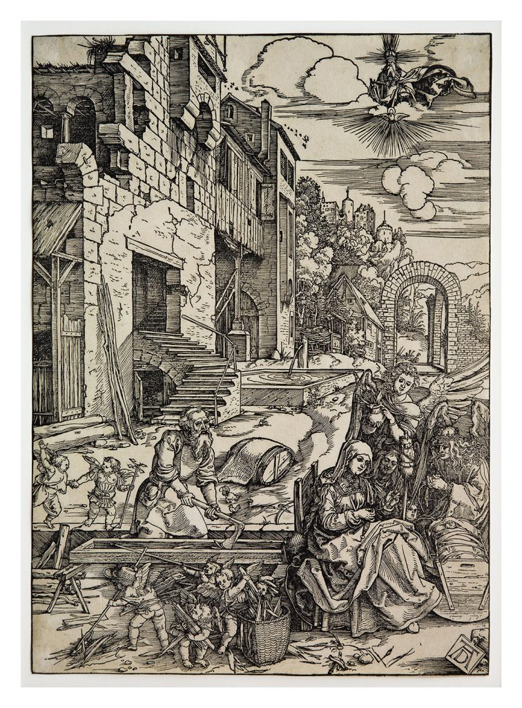 Albrecht Dürer, 'Repose on the Flight into Egypt', c.1504, (Hussey Bequest, Chichester District Council, 1985), © Pallant House Gallery