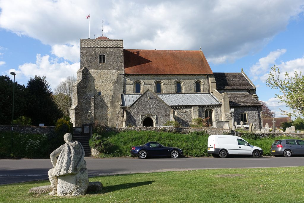 The Parish Church of St Andrew and St Cuthman, Steyning