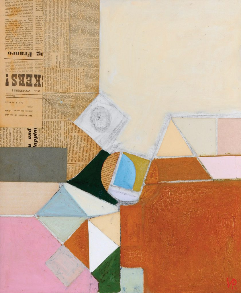 Victor Pasmore, Triangular Motif, c.1949, oil and collage, Ferens Art Gallery: Hull Museums © Estate of Victor Pasmore. All rights reserved, DACS 2017