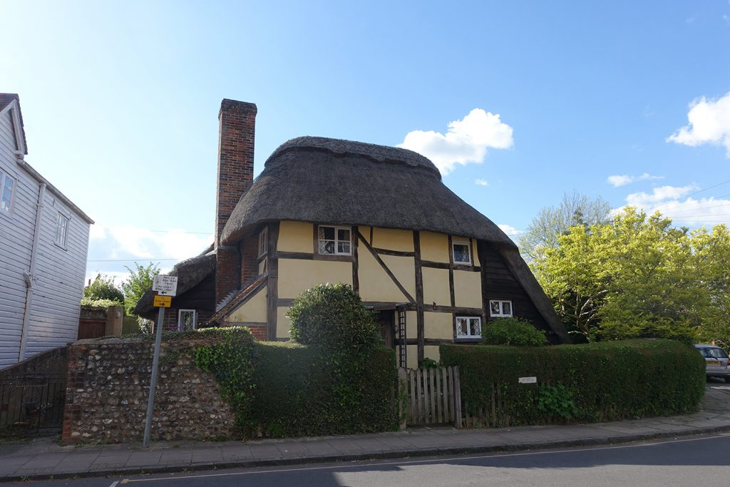 Saxon Cottage which actually dates from c.1550