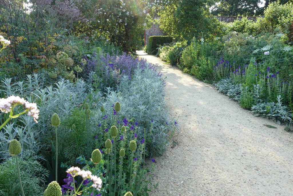 The restored Blue Border at Parham