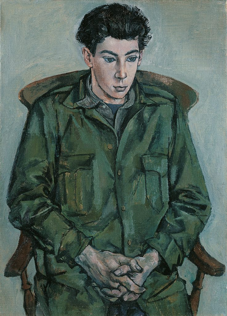 John Minton, Portrait of David Tindle as a Boy, 1952, oil on canvas, Pallant House Gallery (Hussey Bequest, Chichester District Council, 1985) © Royal College of Art
