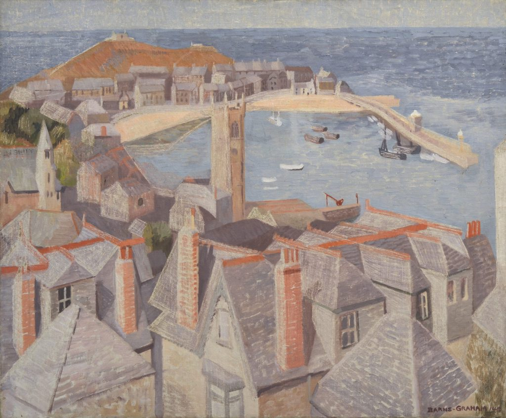 Wilhelmina Barns-Graham (1912-2004), View of St Ives, c.1940, oil on canvas © The Barns-Graham Charitable Trust