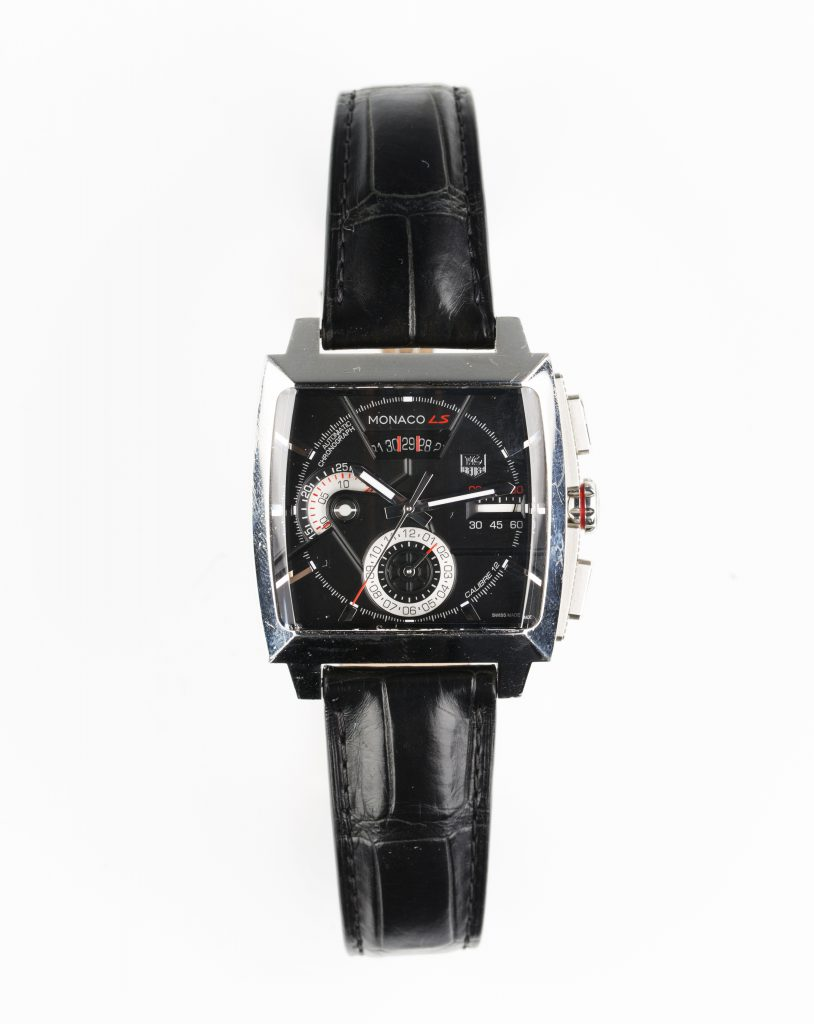 A Tag Heuer Monaco LS Automatic steel cased gentleman's wristwatch, circa 2015