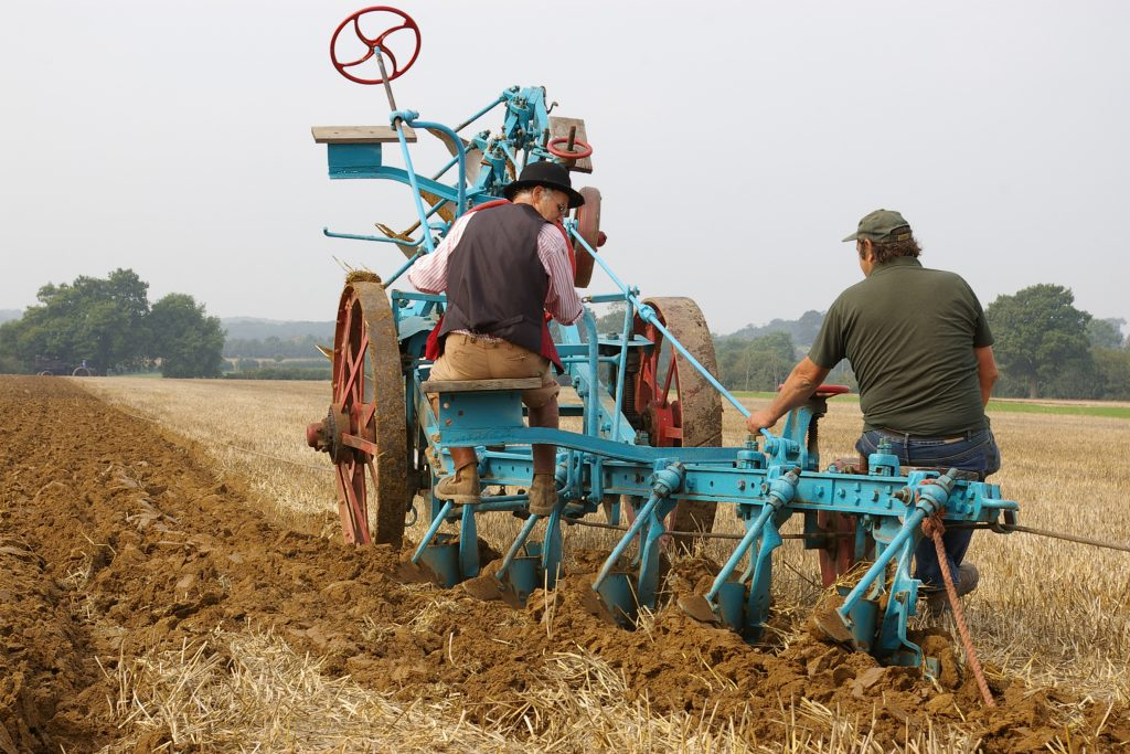 Robert Jameson's steam winched plough