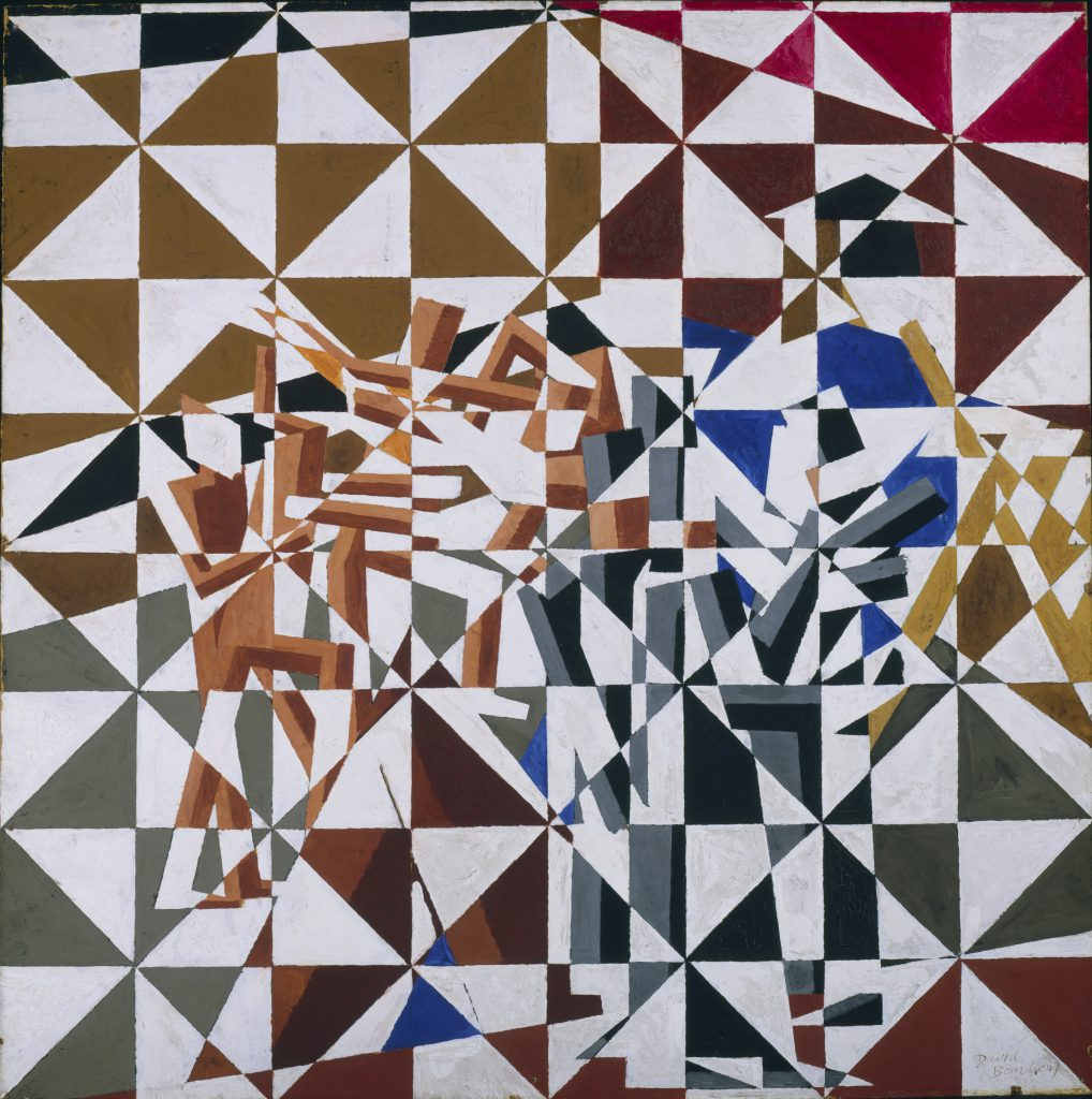 David Bomberg, Ju - Jitsu, circa 1913, Tate © Tate, London 2017