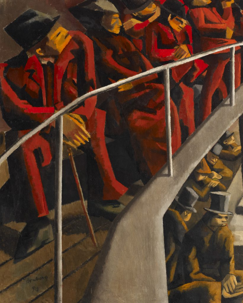 David Bomberg, Ghetto Theatre, 1920, Ben Uri Collection © Ben Uri Gallery and Museum
