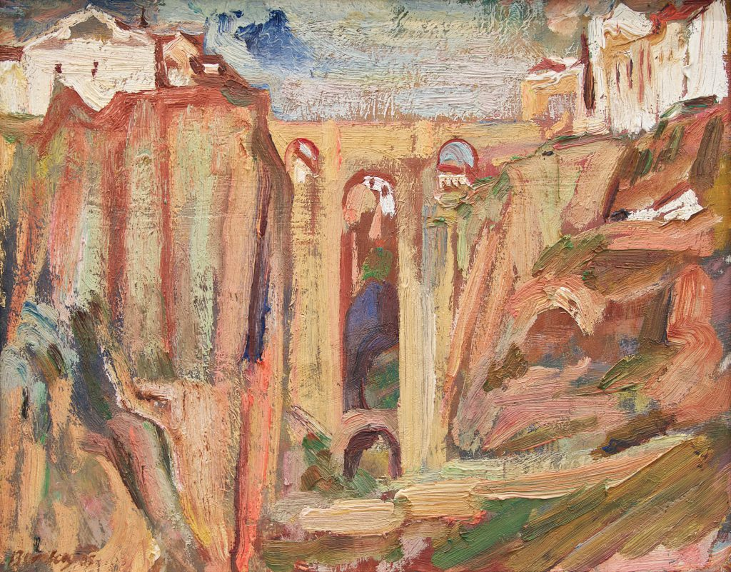 David Bomberg, Ronda Bridge, 1935, Pallant House Gallery © The Estate of David Bomberg