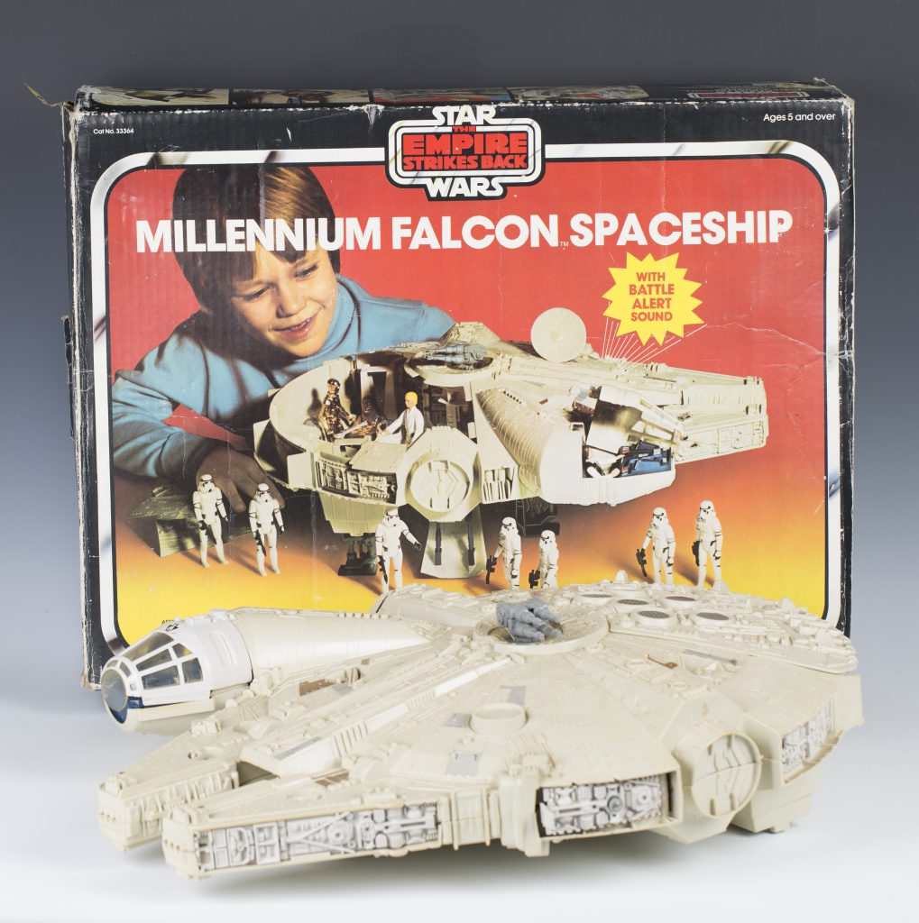 The Millennium Falcon with original box