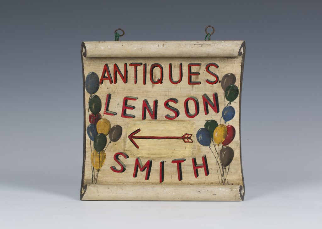 Nellie Lenson-Smith sign at Toovey's