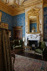 The Cabinet room at Houghton Hall