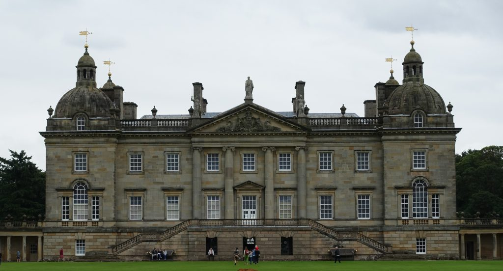 Houghton Hall in Norfolk, home to Britain's first Prime Minister, Sir Robert Walpole