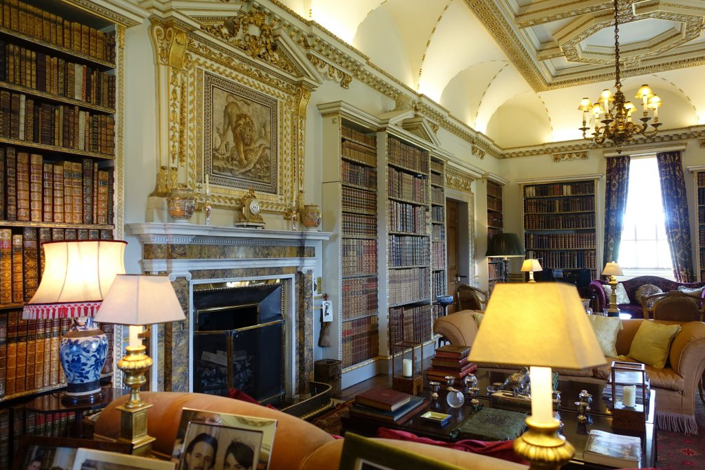 The Long Library designed by William Kent